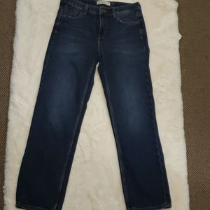 Zara Basic Denim Jeans Straight sz 4